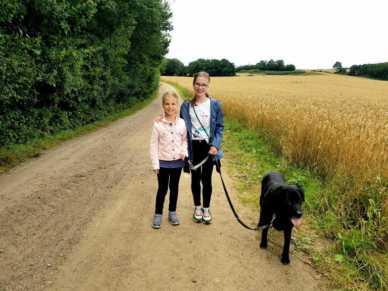 Spaziergang mit Kimba