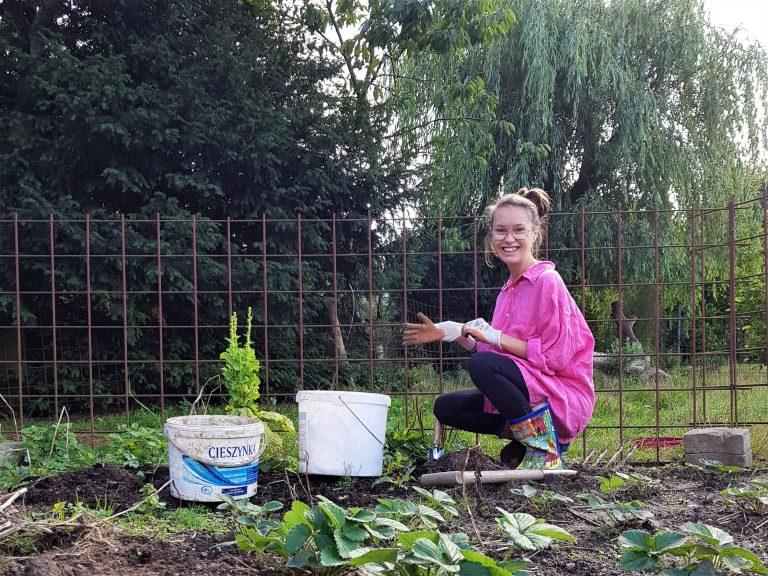 Gartenarbeit Ferienhof Schwien