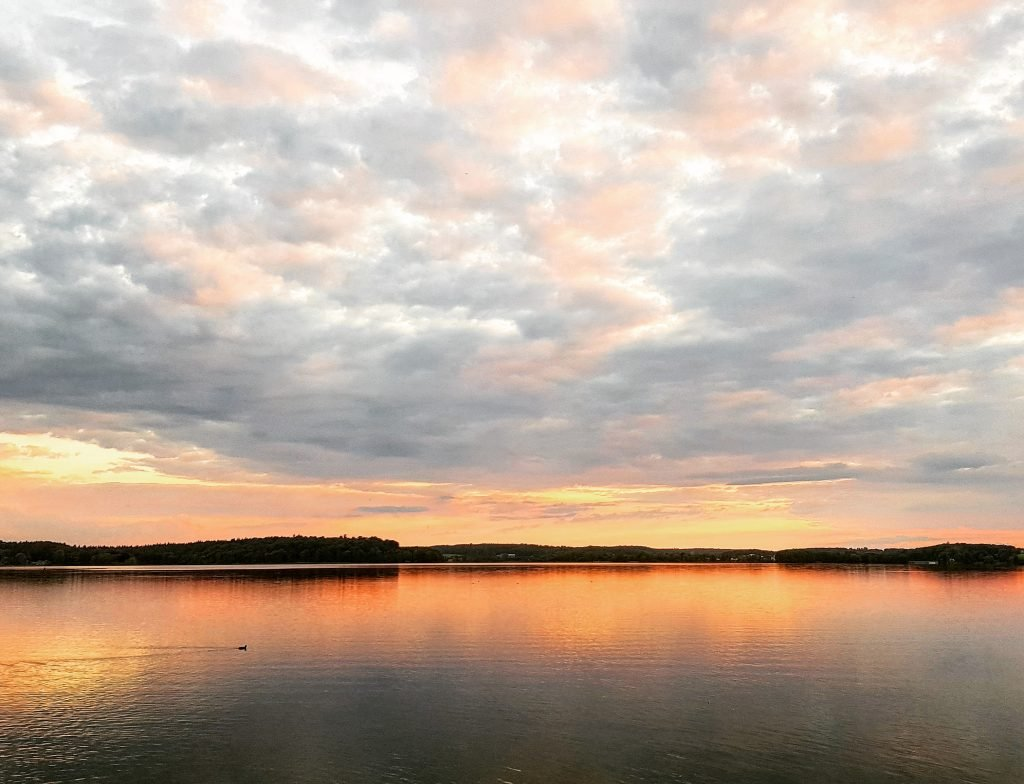 Sonnenuntergang am Kellersee